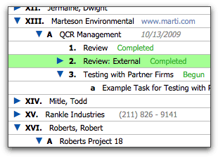 FileMaker Records in Outline Format with Roman Numerals