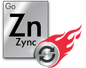 Faster FileMaker Sync - the GoZync Logo