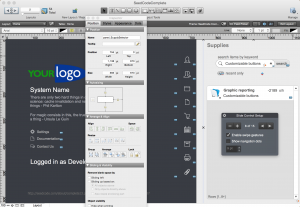 Making the new sidebar panels for the new module.