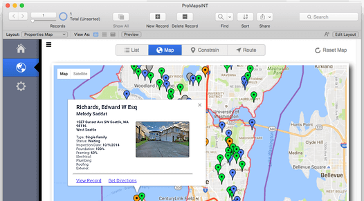 Google Maps in FileMaker