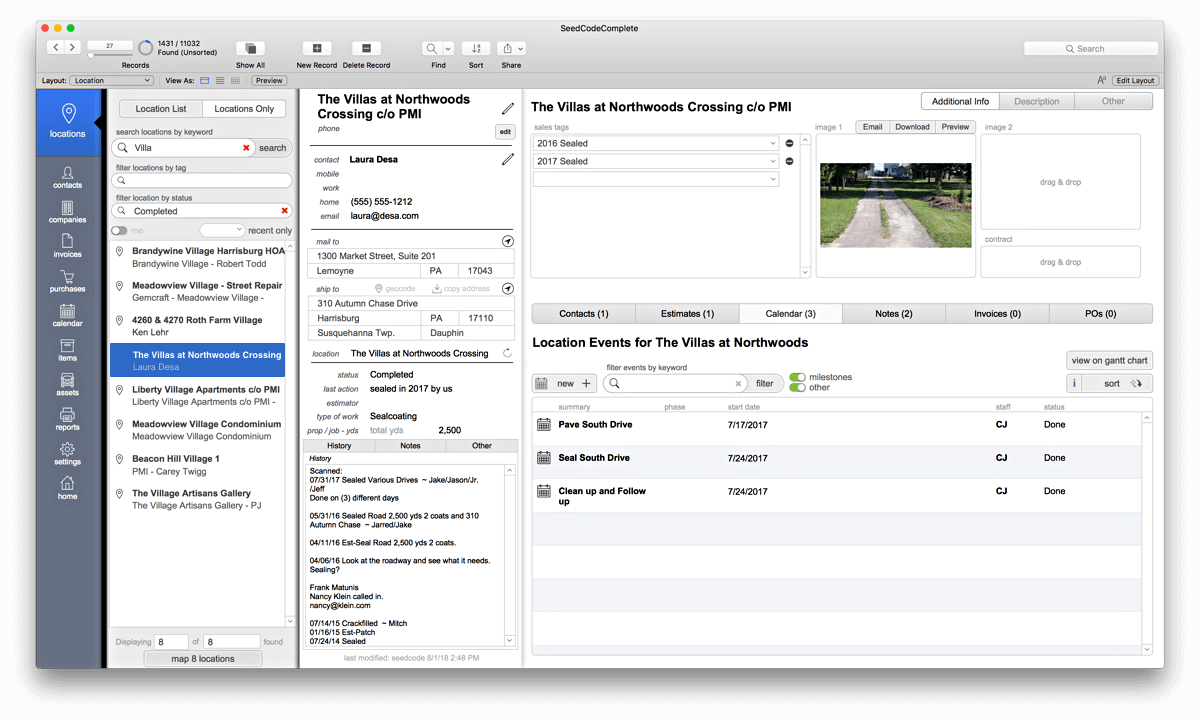 SeedCode Complete FileMaker Template