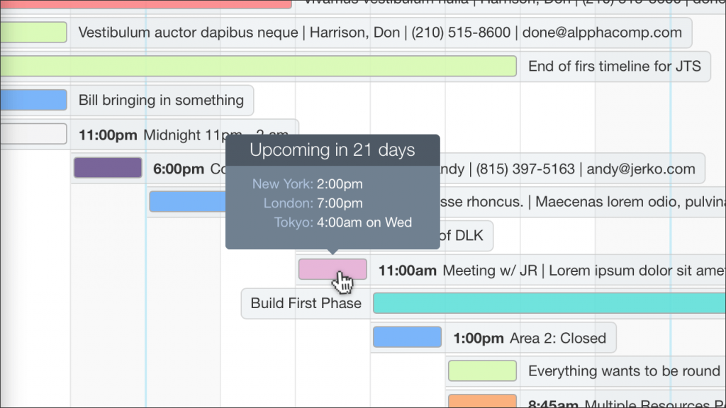 Timezone Tooltips for FileMaker