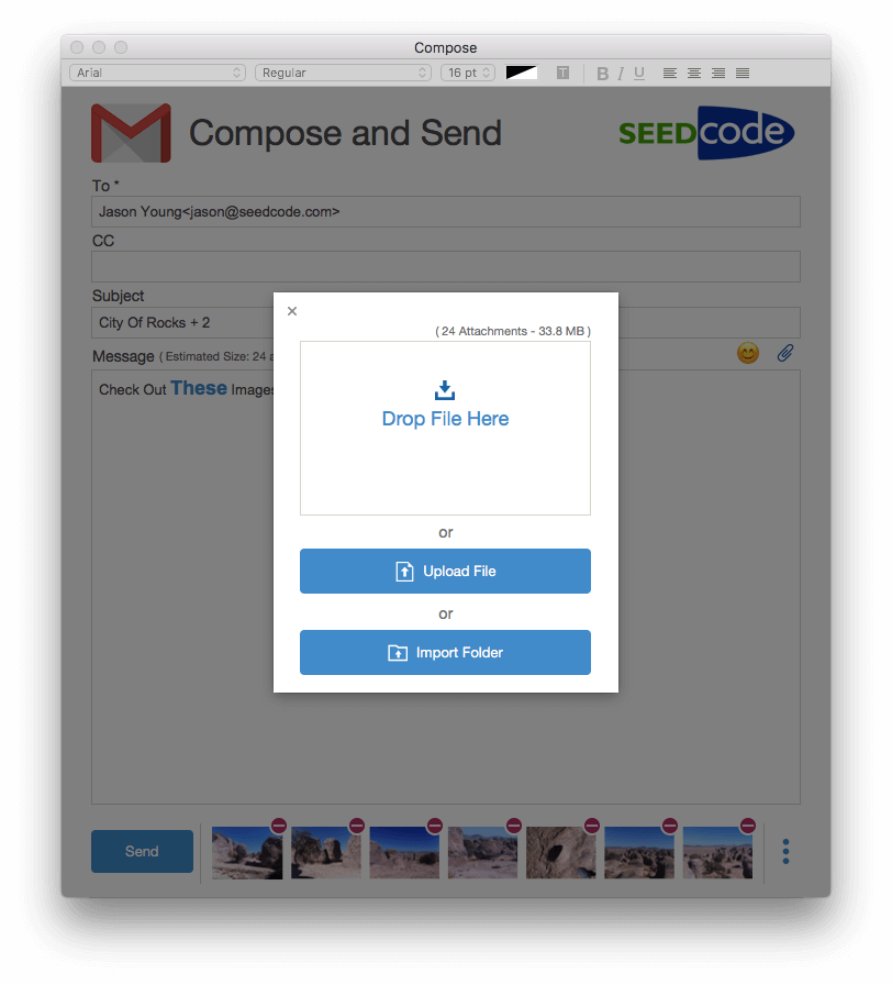 FileMaker Email Attachments