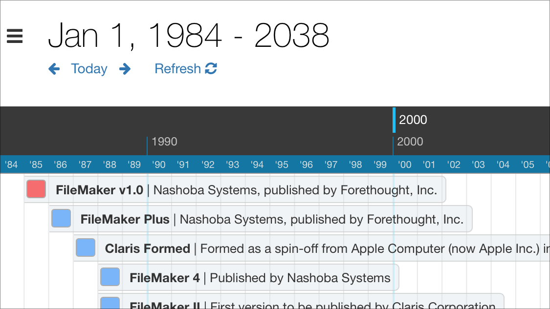 The history of FileMaker and Claris