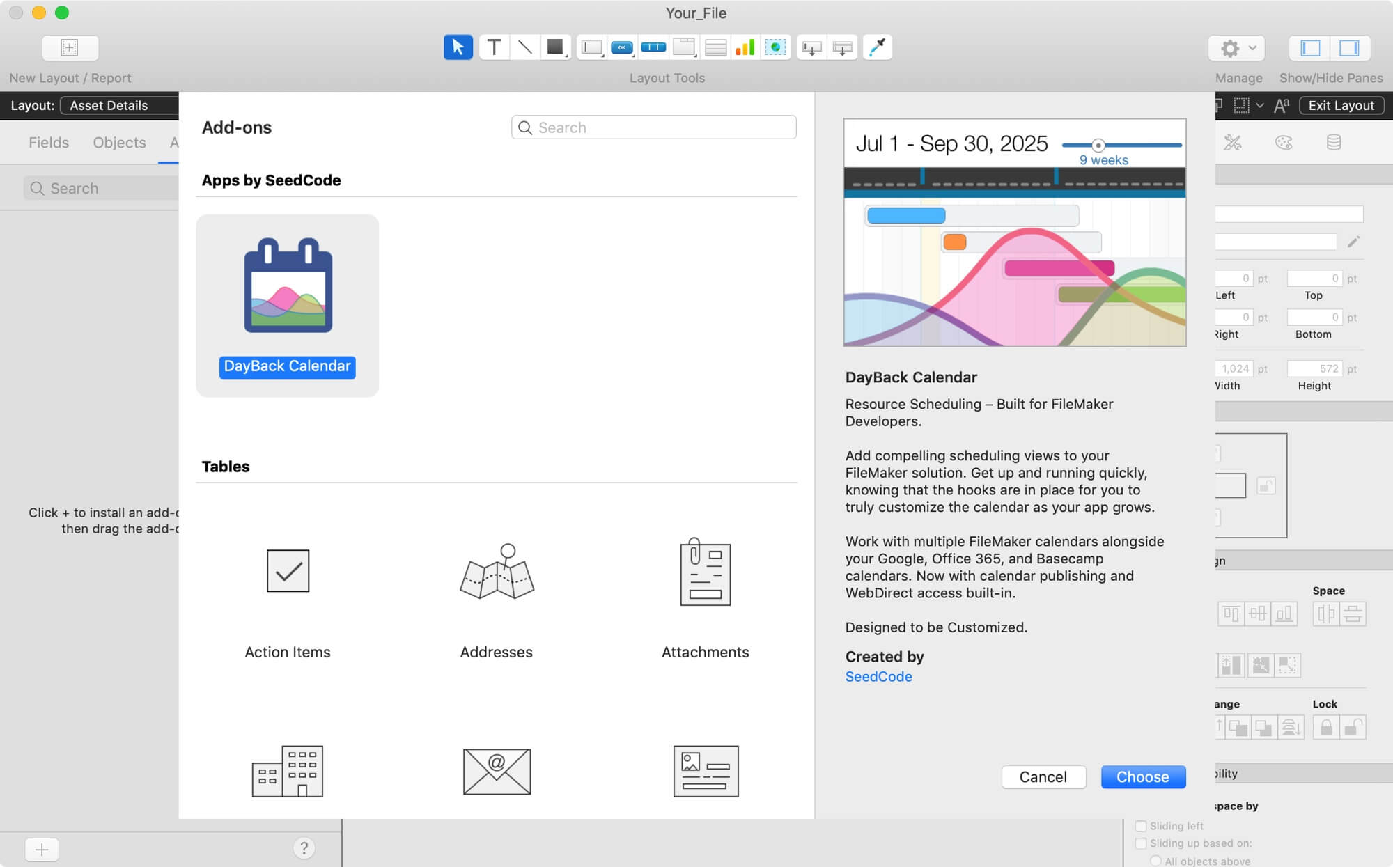 FileMaker 19 Add-Ons